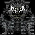 Hammer of Doom 2018 Time Table
