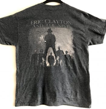 Eric Clayton And The Nine - T-shirt (back)